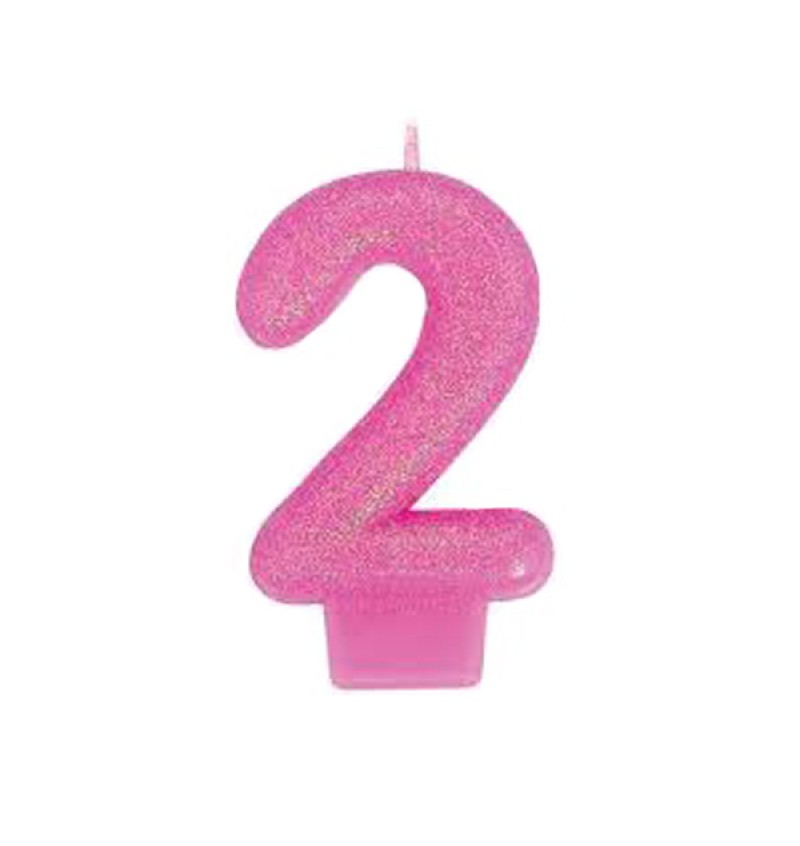 Candle - Numeral Molded Birthday Candle