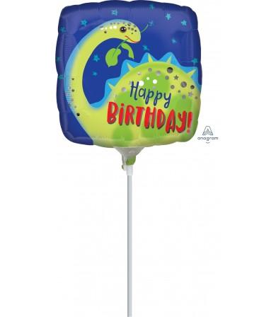 "39642 Brontosaurus Happy Birthday (9"")"