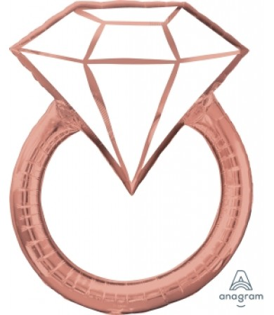 39715 Blush Wedding Ring - SuperShape