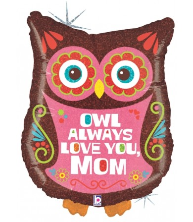 "85876P - OWL Always Love You Mom (26"")"