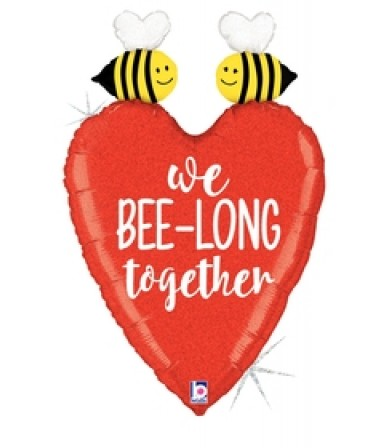 "35623P  Glittering We Bee-long Together (31"")"