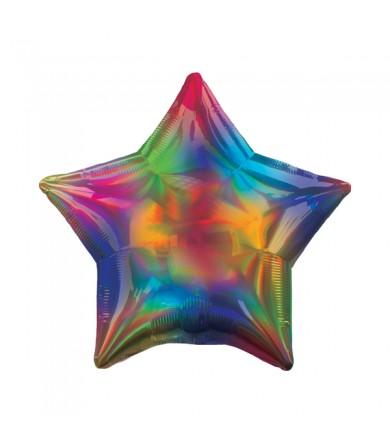 "39271 Iridescent Rainbow Star (19"")"