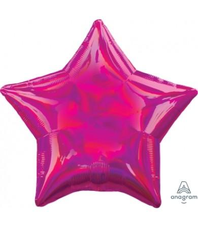 "39267 Iridescent Magenta Star (19"")"