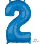 """36627 - Number -2- Blue (26"""")"""