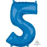 """36630 - Number -5- Blue (26"""")"""