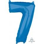 """36632 - Number -7- Blue (26"""")"""