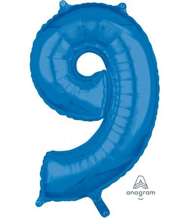 """36634 - Number -9- Blue (26"""")"""