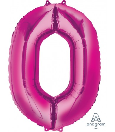 "28272 - Number -0- Pink (34"")"