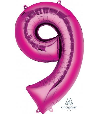 "28299 - Number -9- Pink (34"")"