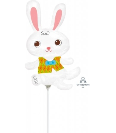 "23824 Easter Bunny with Vest (14"")"