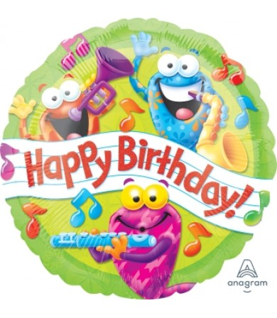 "40037 Trend Frog-tastic Happy Birthday Day (18"")"