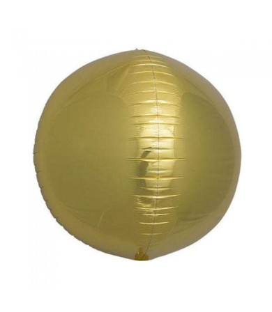 "01005 Sphere Gold ( 17"" )"