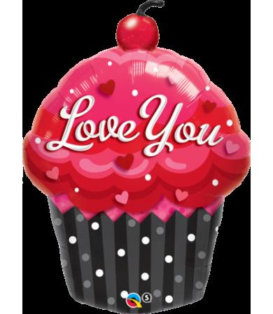 "16352 Love You Cupcake (35"")"