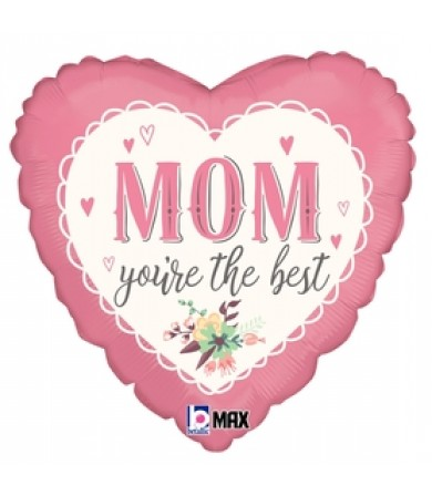 """36783P Vintage Best Mom (18"""")"""