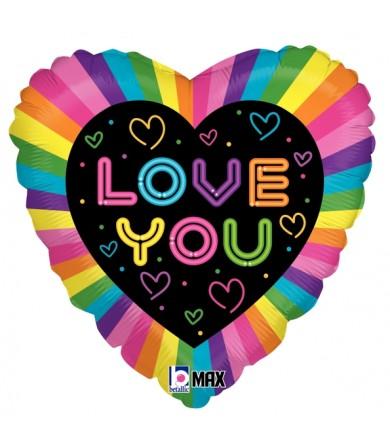 "36766P Neon Love (18"")"