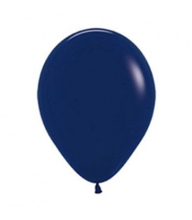 "Sempertex 12"" Fashion Solid Navy Blue 044"