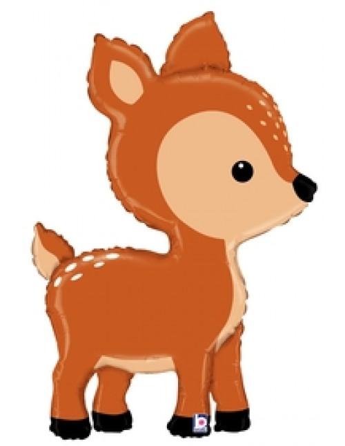 "35878P - Woodland Deer (39"")"