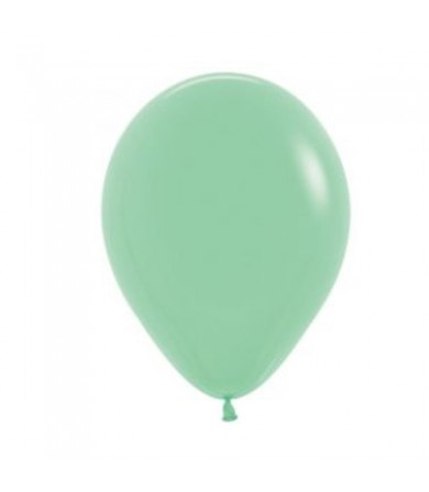 "Sempertex 12"" Fashion Solid Mint Green 026"