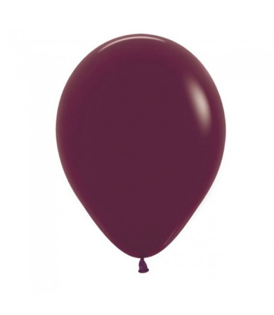 "Sempertex 12"" Fashion Solid Burgundy 018"
