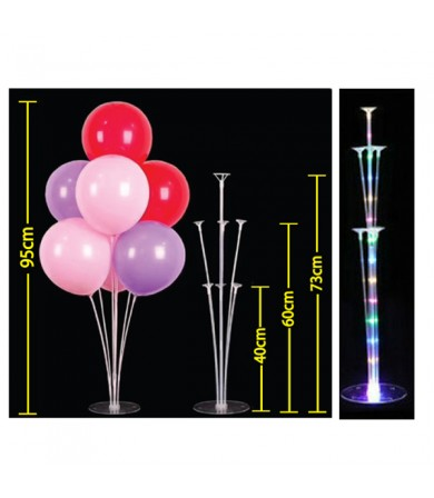 Table Balloon Display Kit with LED
