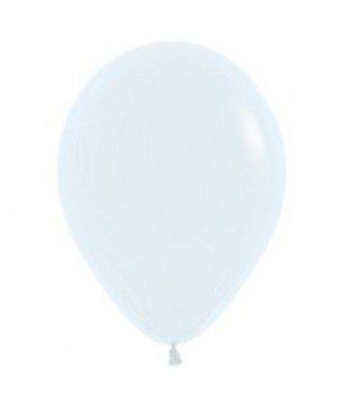 "Sempertex 12"" Fashion Solid White 005"
