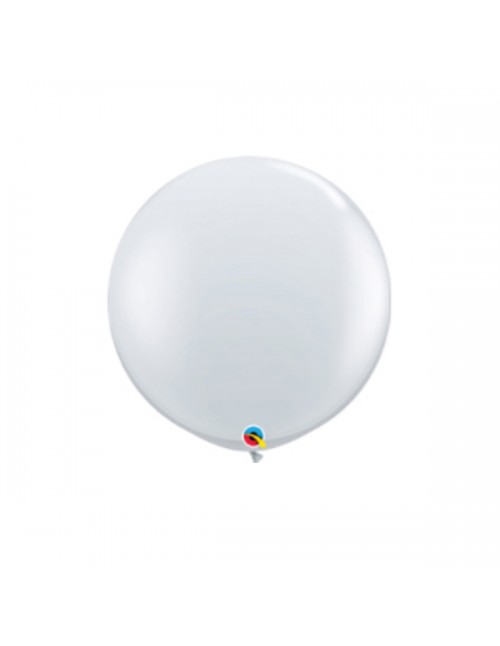 "Qualatex 18"" Round Balloon Diamond Clear"
