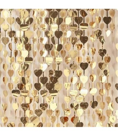 Heart Shimmer Curtain - 91cm x 240cm