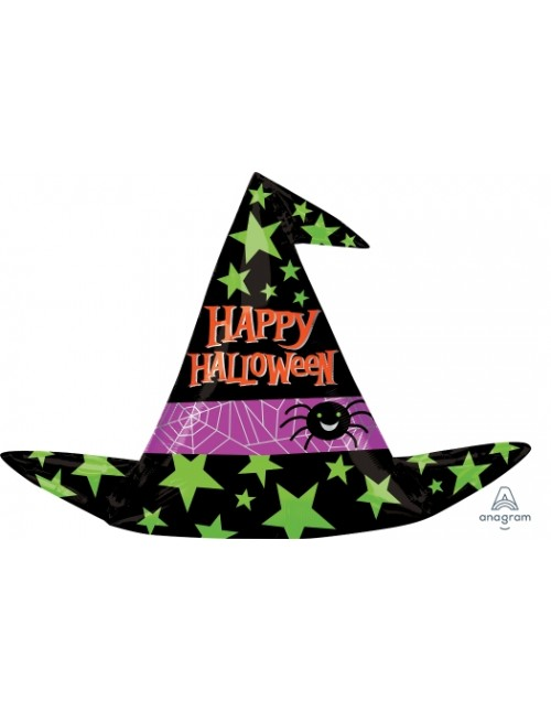 33841 Halloween Witch Hat - SuperShape