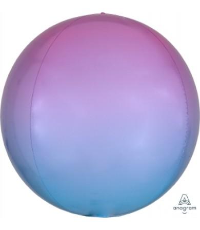 "40628 Ombré Orbz™ Pastel Pink & Blue (16"")"