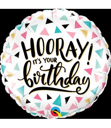 "88076 - Birthday Hooray (18"")"