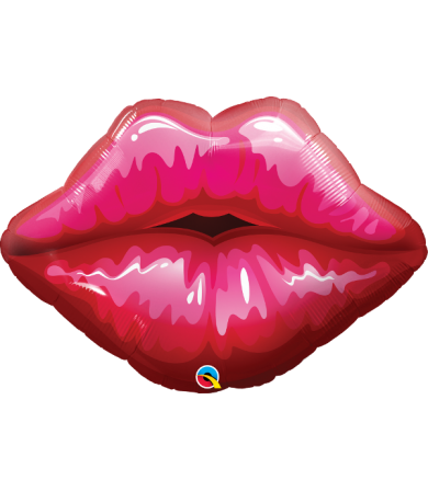 "16451 - Big Red Kissy Lips (30"")"