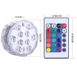 Remote Control Submersible LED Light