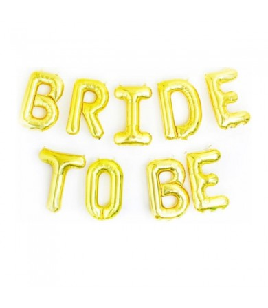 "16"" Bride To Be Foil Letter"