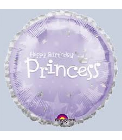 "A117776 Express Yourself Birthday Princess (18"")"