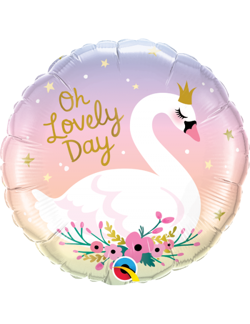 """10371 Oh Lovely Day Swan (18"""")"""