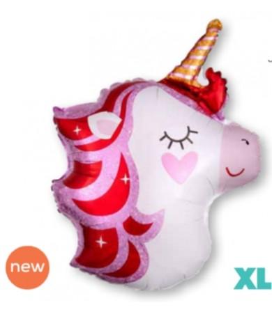 "40485 - Pretty in Pink Unicorn (21"")"