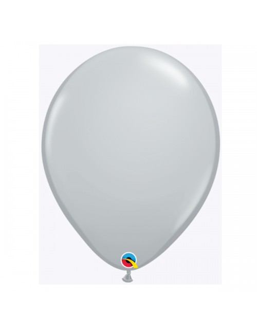 "Qualatex 11"" Round Balloon Fashion Gray"