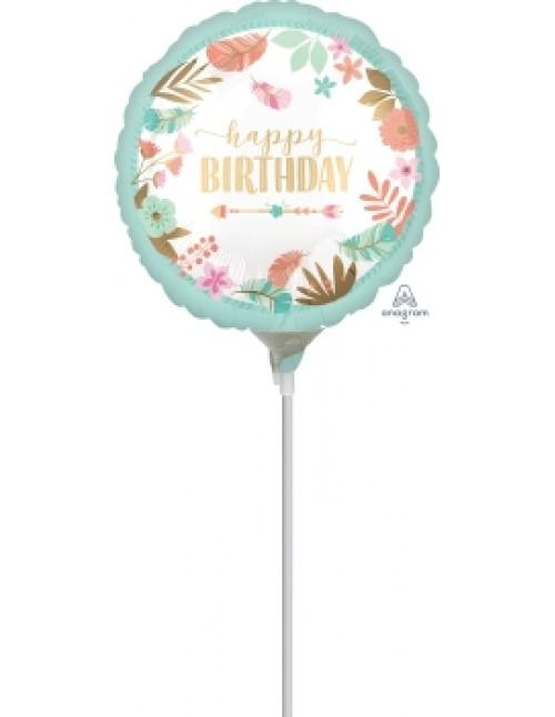 """39070 Boho Birthday Girl (9"""")"""