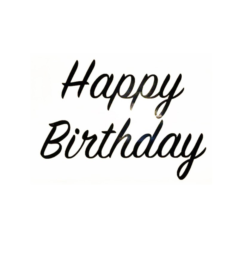 Sticker - Happy Birthday ( Small ) - Pkt