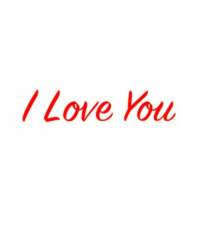 Sticker - I Love You ( Small ) - Pkt