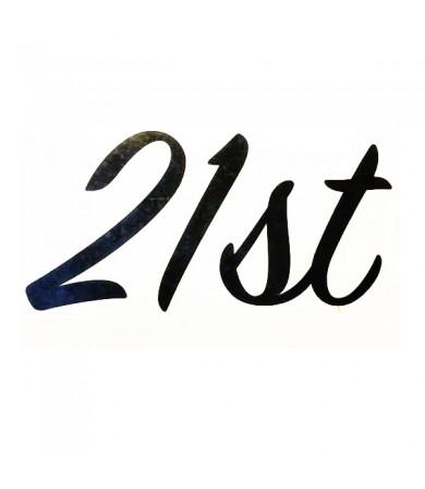 Sticker - 21st - Pkt