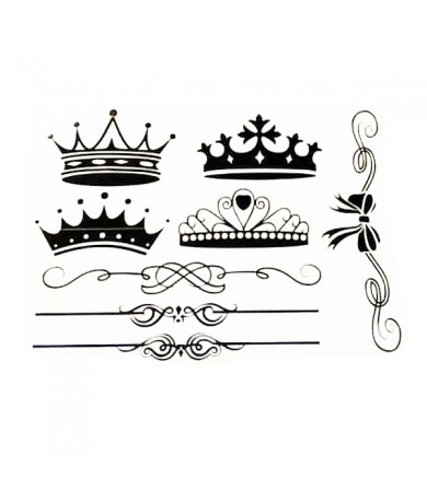 Sticker - Crown - Pkt