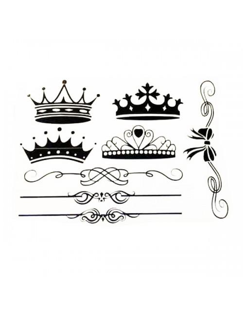Sticker - Crown - Pkt