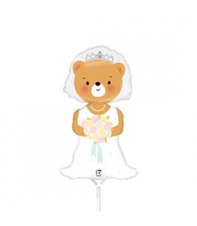 """19594 Bride bear (14"""")"""