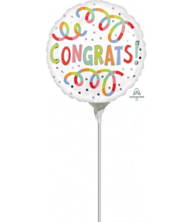 "41145 Congrats Swirls - (4"")"