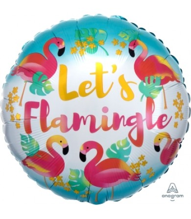 "37121 Let's Flamingle (18"")"