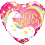"57317 - Birthday Magical Unicorn  (18"")"