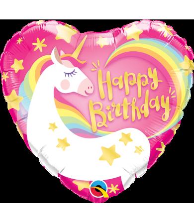 "57317 - Birthday Magical Unicorn  (18"")"