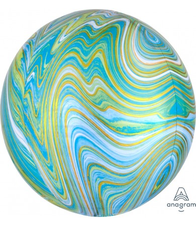 41393 Blue Green Marblez™  - Orbz®
