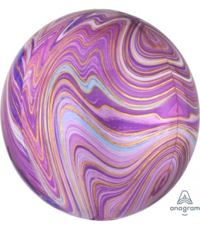 41395 Purple Marblez™  - Orbz®